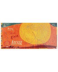 ANEKKE Bufanda Foulard Orange 32700-20-000SET - Naranja