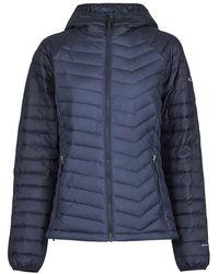 Columbia Piumino Powder Lite Hooded Jacket - Blu