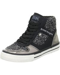 British Knights - Snapper Women's Shoes (high-top Trainers) In Black - Lyst