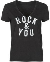 IKKS FRITAT T-shirt - Noir