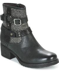 Mam'Zelle - Dorisa Women's Mid Boots In Black - Lyst