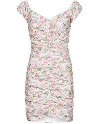 Guess Robe courte INGRID DRESS - Rose