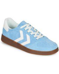 Hummel Lage Sneakers Victory - Blauw