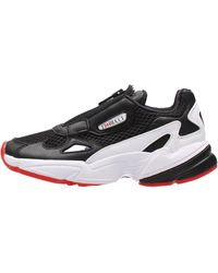 adidas - Falcon zip nero EF3644 Chaussures - Lyst