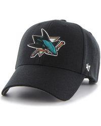 47 Brand Casquette Casquette San Jose Shark - Noir