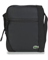Lacoste Handtasje Lcst Medium - Zwart