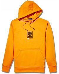 Timberland Felpa arancione TB0A2AJC Sweat-shirt - Jaune
