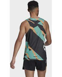 adidas Camiseta tirantes Camiseta sin mangas Terrex Parley Agravic Trail Running - Verde