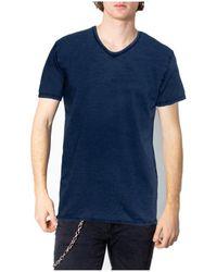 Brian Brome 23/102-398 T-shirt - Bleu