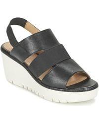 Geox - D Domezia B Women's Sandals In Black - Lyst