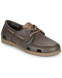 Crocs™ Náuticos CLASSIC BOAT SHOE M - Marrón