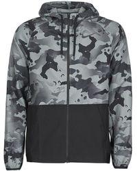 Nike Trainingsjack M Pro Flx Vnt Mx Hd Fz Jkt Camo - Zwart