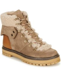 See By Chloé Snowboots Luster - Bruin