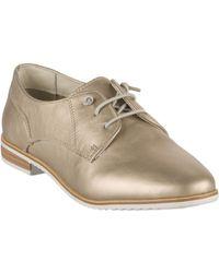 Miglio Chaussures à lacets femme - - Dore mordore - 36 femmes Chaussures en Doré - Métallisé