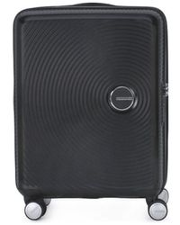 Samsonite Reiskoffer American Tourister 001 Soundbox Spinner 5520 Tx - Zwart