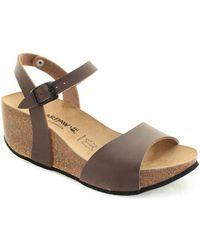 BEARPAW Sandales compensées Hong Kong Sandales - Marron