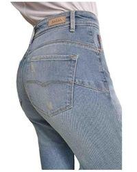 Salsa Jeans push in secret glamour capri bleu 124714 Jeans skinny
