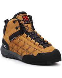 Five Ten Zapatillas de senderismo Guide Tennie MID 5124 - Amarillo
