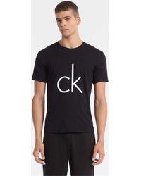 Calvin Klein Camiseta de estar por casa - CK Sleep - Negro