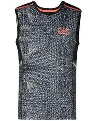 EA7 Ventus 7 M Tee Sl Graphic Sweat-shirt - Noir