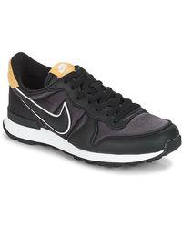 Nike Lage Sneakers Internationalist Heat - Zwart