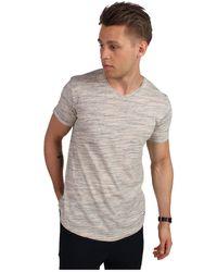 Solid HAVIERO T-shirt - Blanc