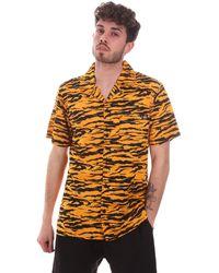 Dickies Overhemd Korte Mouw Dk0a4xa5b591 - Oranje