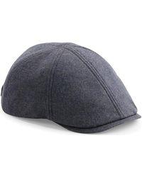 BEECHFIELD® Casquette Flat Cap - Bleu