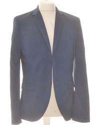 H&M Veste De Costume 42 - T4 - L/xl Vestes de costume - Bleu