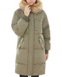 Vans Dusty Olive Pullman Puffer Mte Womens Jacket Coat - Black