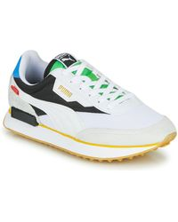 PUMA Future Rider - Sneakers - Wit