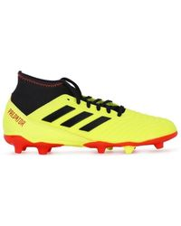 4171fbbaaf5d Adidas F10 Mg Men s Football Boots In Yellow in Yellow for Men - Lyst
