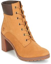 Timberland Botines ALLINGTON 6IN LACE UP - Marrón