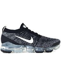Nike - Air Vapormax Flyknit 3 Trainers Black White - Lyst