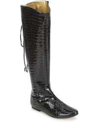 French Sole - Prince Women's High Boots In Black - Lyst