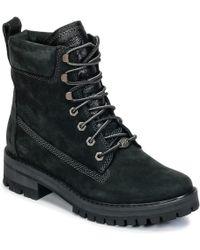 Timberland - COURMAYEUR VALLEY YBOOT femmes Boots en Noir - Lyst