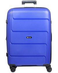 Słoń Torbalski 040211s03 Hard Suitcase - Blue