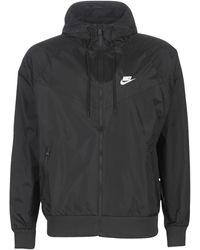 Nike Plus - Heritage Essentials - Windrunner - Geweven Jas - Zwart