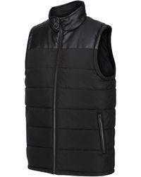 Regatta Hamill Insulated Quilted Bodywarmer Black Jacket