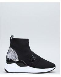 Sixtyseven Hoge Sneakers 30727 - Zwart