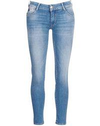 Le Temps Des Cerises Pulp Cut Skinny Jeans - Blue