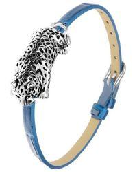 Sc Crystal B1862-BLEU Bracelets - Métallisé