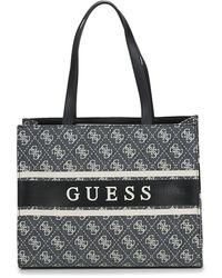 Guess Borsa Shopping Monique Tote - Nero