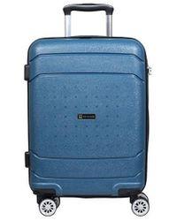 Słoń Torbalski 040311 Hard Suitcase - Blue
