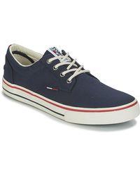 Tommy Hilfiger Lage Sneakers Vic 1 - Zwart