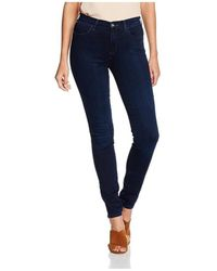 Wrangler Jeans High Skinny W27HBV78Z - Azul