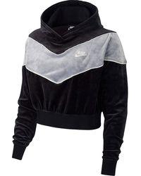 Nike - Sweat-shirt GIACCHETTO CON CAPPUCCIO NERO - Lyst