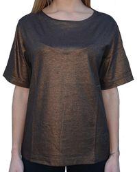 Converse Camiseta BRONZO - Metálico