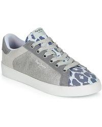 Pepe Jeans Lage Sneakers Kioto - Wit