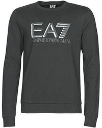 EA7 Sweater Train Visibility M T-top Rn Coft - Zwart